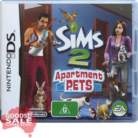 Sims 2 Apartment Pets The Sims 2 Apartment Pets Nintendo Ds Cartdridge