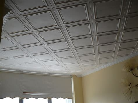 how to tile a ceiling styrofoam ceiling tiles finished projects images photo