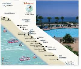southern california map of beaches orange county hotels southern california hotel