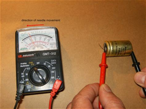 test capacitor analog multimeter capacitors 101 ifixit