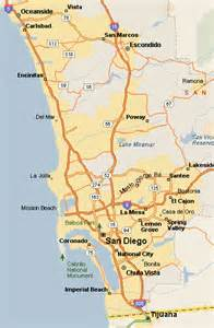 San Diego Area Map by Map Of California San Diego Area Car Tuning