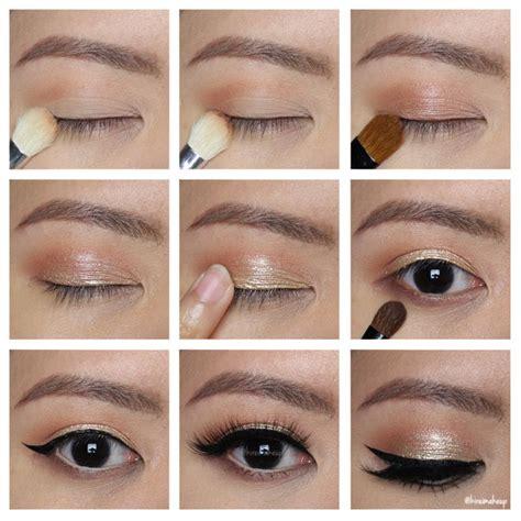 party makeup tutorial gold new year party makeup tutorial kirei makeup