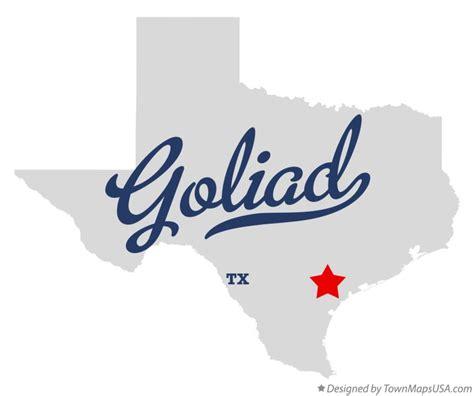 map of goliad texas map of goliad tx texas