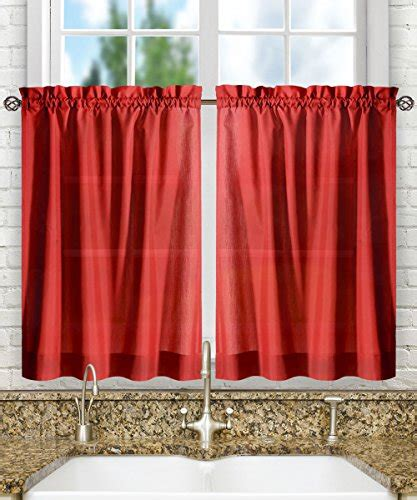 red kitchen curtains red kitchen curtains red kitchen accessories