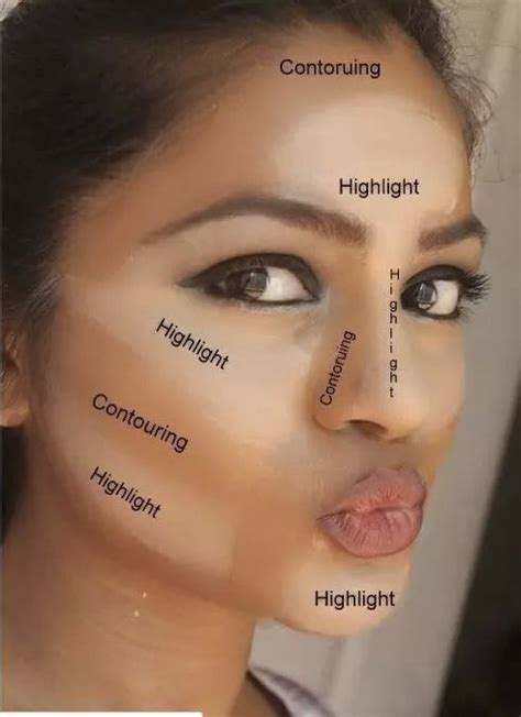 where do you put your makeup on 5 tips on how to apply makeup in the right places makeup
