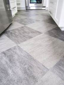 Kitchen Floor Tiles by Make A Statement With Large Floor Tiles