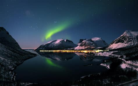 libro by night the mountain aurora borealis wallpapers hd wallpaper cave