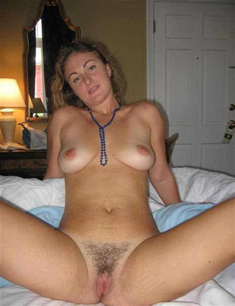 Spreading To Show Her Hairy Pussy Porn Pic EPORNER