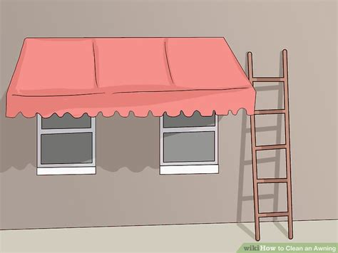how to clean an awning how to clean metal awnings 3 ways to clean an awning wikihow