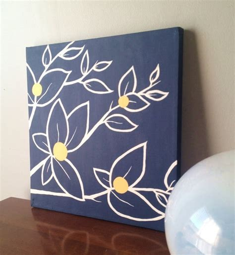 Master Bedroom Decorating Ideas Etsy Navy Blue And Yellow 12x12 Navy Blue White And