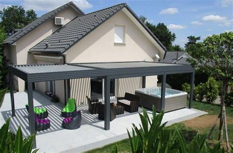 Pergola Bioclimatique En Kit 340 by Maison Avec Pergola Avie Home