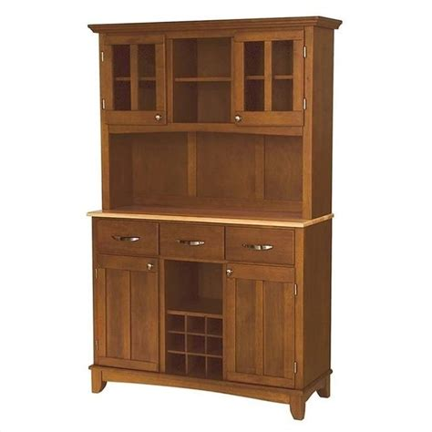 oak buffet and hutch furniture large cottage oak buffet and hutch 5100 0061 62