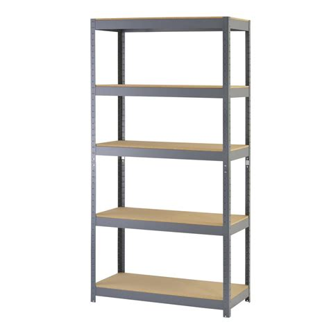 rack 72 in h x 36 in w x 18 in d 5 shelf steel