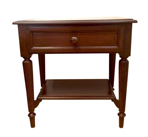 Single Drawer Bedside Table by Centaur Reed Single Drawer Bedside Table