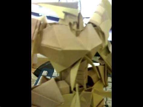 cara membuat origami robot gundam papercraft robot fishtank36 doovi