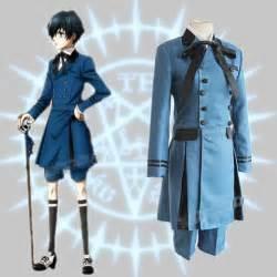 Black butler kuroshitsuji ciel phantomhive cosplay costume emboitement