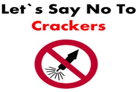 Say No To Crackers Essay In by Gallery Dr D Y Patil Institute Of Hotel Management Catering Technology