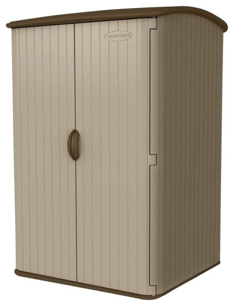 Suncast Shed Manual by Suncast 100 Cu Ft Vertical Outdoor Storage Shed Sheds By And Home