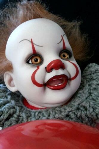 reborn babypennywise  clown real  baby dolls