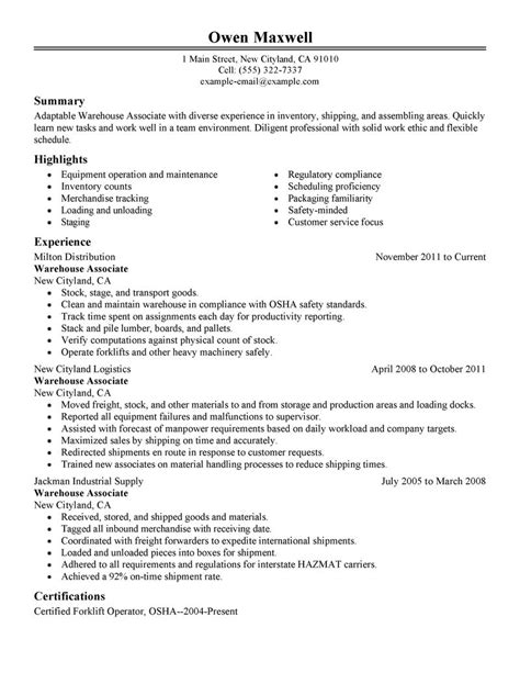 List of Warehouse Skills warehouse production warehouse