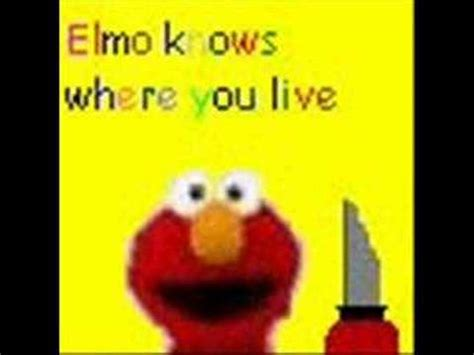 elmo song elmo s song vid