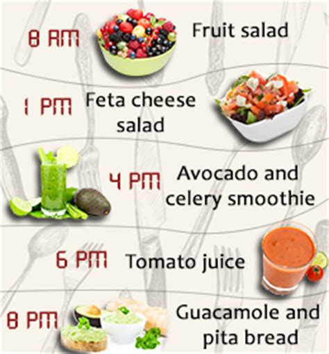 Vegetable Detox Meal Plan by Fruit And Veggie Meal Plan Best Diet Solutions Program