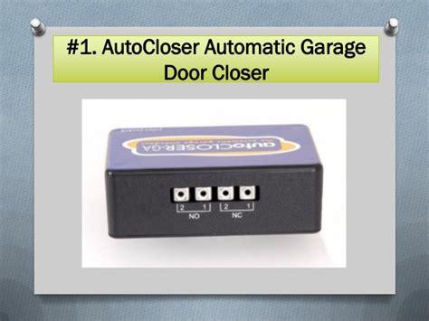 Garage Door Auto Closer Top 10 Best Automatic Door Closers
