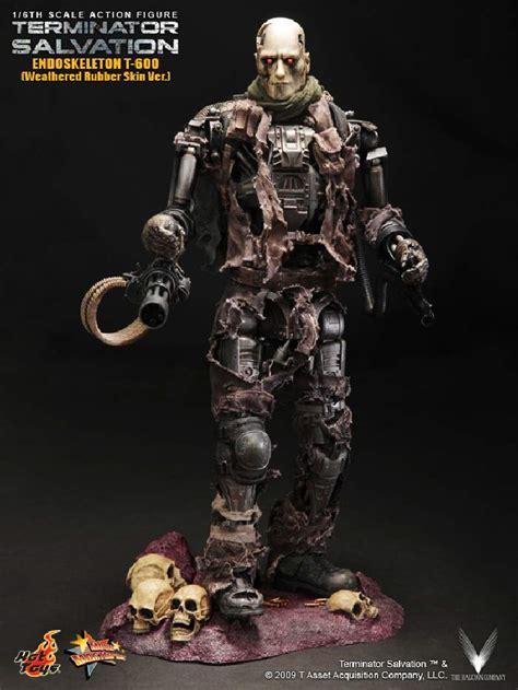 Toys Terminator Salvation T 600 Concept Version toys 104 terminator salvation t 600 collectible figure weathered rubber skin