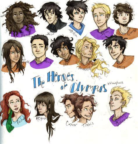 The Heroes Of Olympus heroes of olympus percy jackson