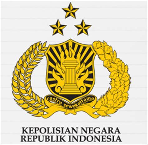 logo polri gambar logo