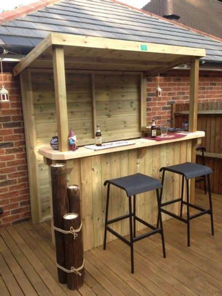 home outdoor garden bar  man