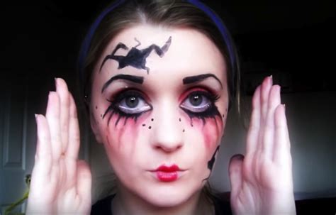 tutorial makeup halloween doll creative halloween makeup tutorials from youtube style