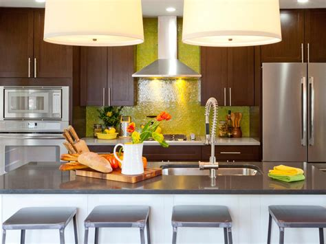 kitchens idea backsplash ideas for granite countertops hgtv pictures