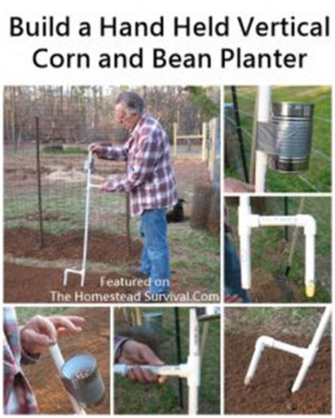 build a held corn and bean planter homesteading the