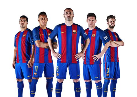 barcelona png fc barcelona team 2016 17 render by fristajlere on deviantart