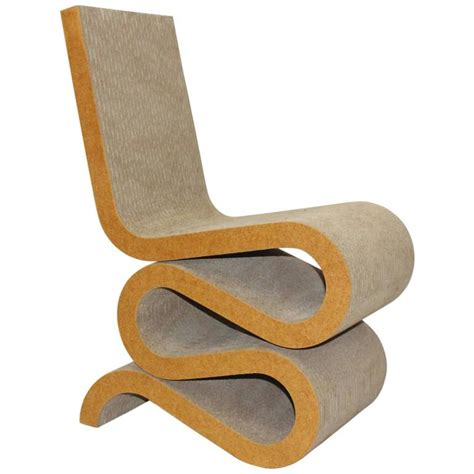 Wiggle Chair by Wiggle Side Chair Designed By Frank Gehry 1972 For Sale