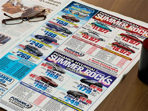 newspaper car ads automotive advertising agency jvs marketing
