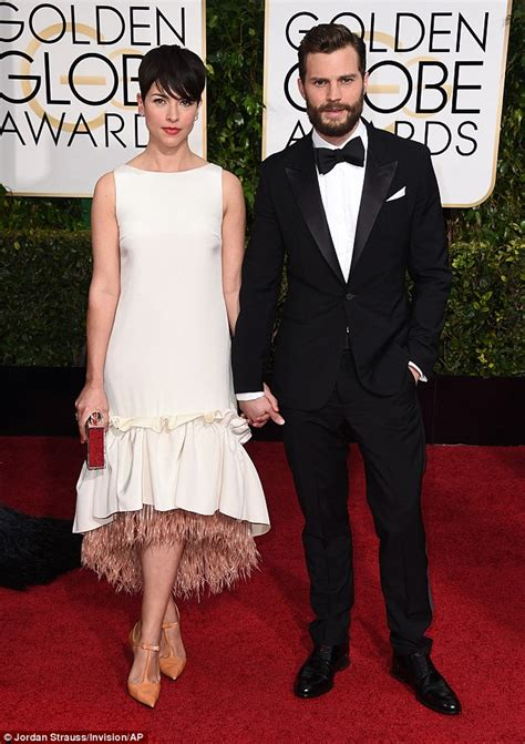 jamie dornan amelia warner and wife view image jamie dornan and wife amelia warner complement each other