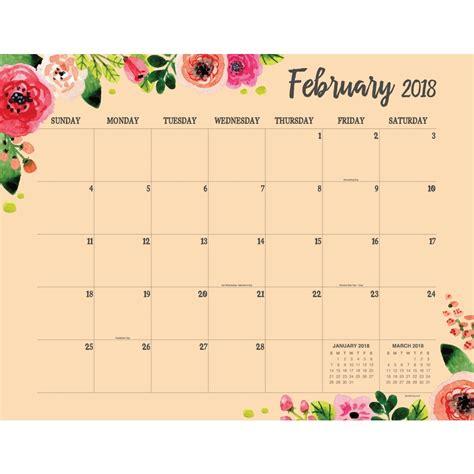 2018 desk pad calendar floral 12 month blotter 9781683752554 calendars com