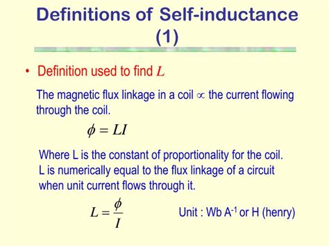 inductor definition ppt inductor definition and uses 28 images self inductance and inductive reactance high voltage