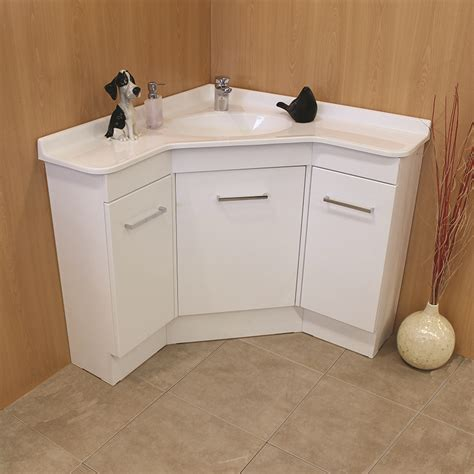 Corner bathroom vanity corner units by showerama
