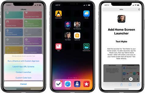 change app icons  ios   shortcut  mac observer