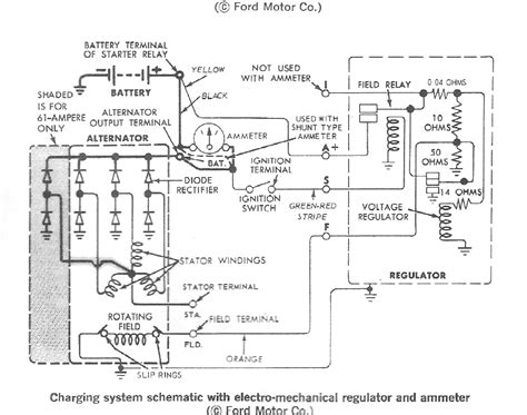ford alternator wiring diagrams ford free engine image