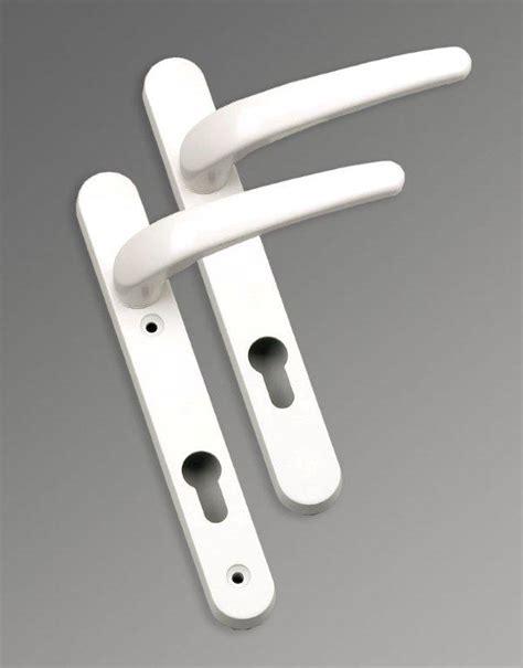 door handles for upvc front doors upvc white door handle jwwhupvcdh architectural