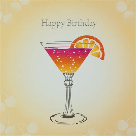 birthday cocktail happy birthday drink images only pictures to pin on