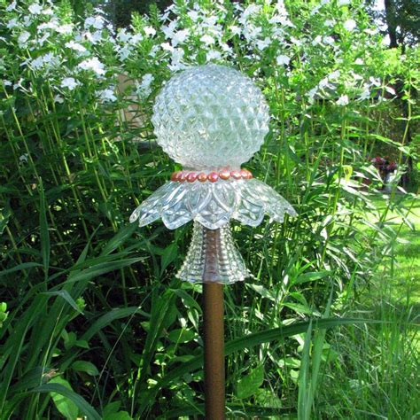 Garden Glass Totems Glass Garden Totems Images