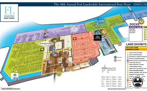boat show 2017 map fort lauderdale international boat show map illustrations