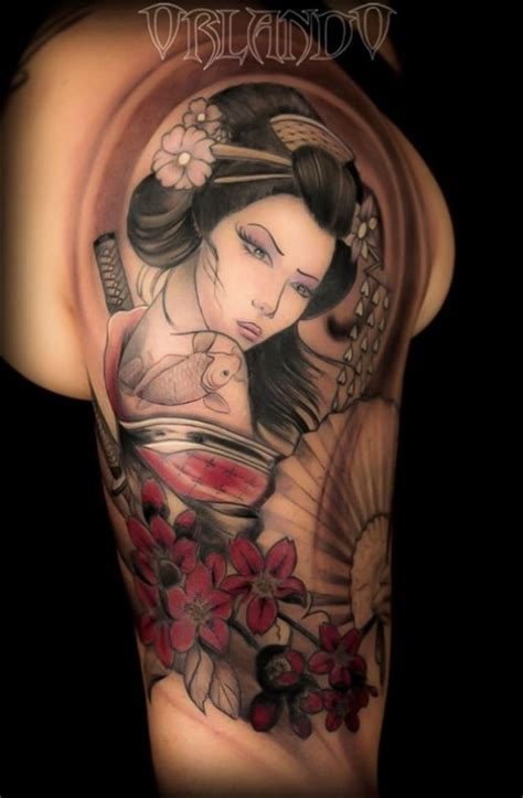Tattoo Geisha Braccio Uomo | disegno geisha per tatuaggio cerca con google tattoo
