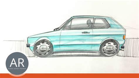 Skizze Auto by Auto Skizzen Hier Ein Klassiker Autos Zeichnen Lernen