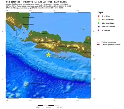 earthquake prediction indonesia 20160406 java indonesia